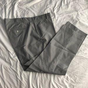 Striped cropped Gap pants
